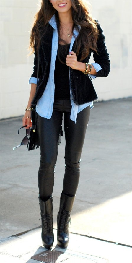 Winter-Autumn-Casual-Outfit-Ideas-For-Ladies-29