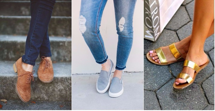 comfy-shoes collage